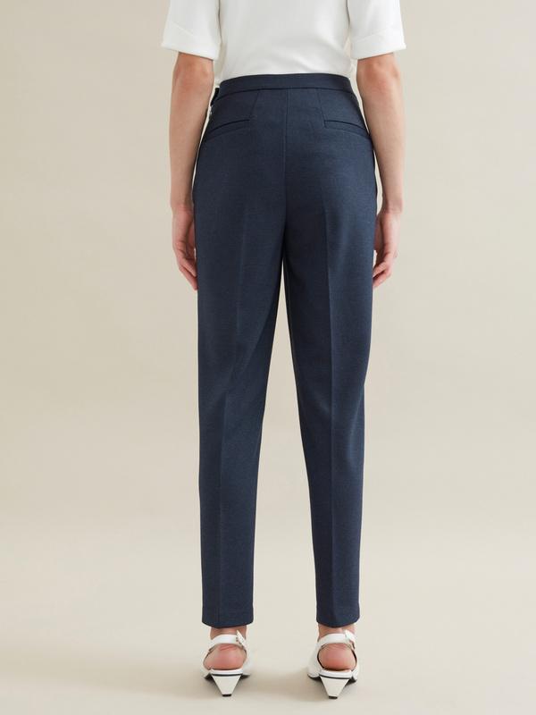 Зауженные брюки с отрезными карманами - фото 3