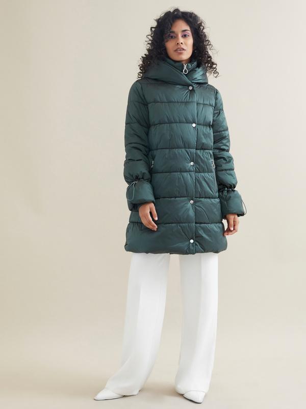 Куртка с завязками на рукавах - фото 1