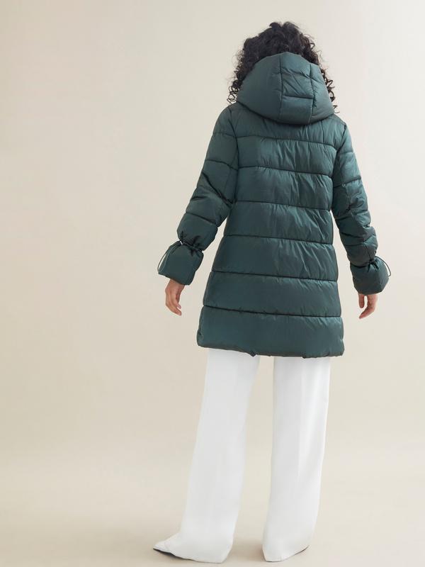 Куртка с завязками на рукавах - фото 5