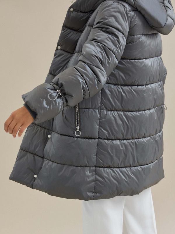 Куртка с завязками на рукавах - фото 2