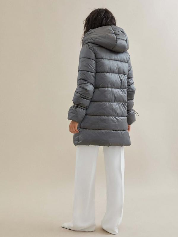 Куртка с завязками на рукавах - фото 4