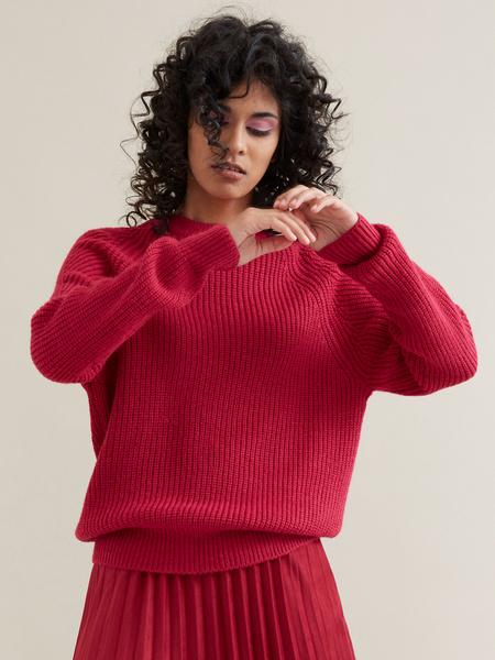Джемпер с рукавами реглан - фото 3