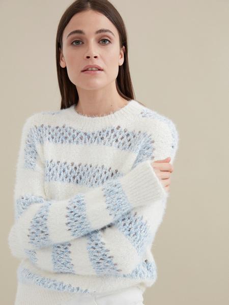 Джемпер крупной вязки - фото 1