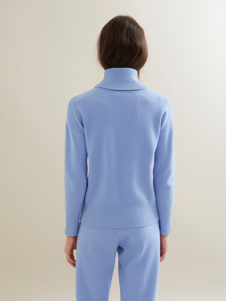 Трикотажный костюм (джемпер+брюки) - фото 4