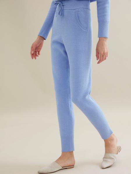 Трикотажный костюм (джемпер+брюки) - фото 6
