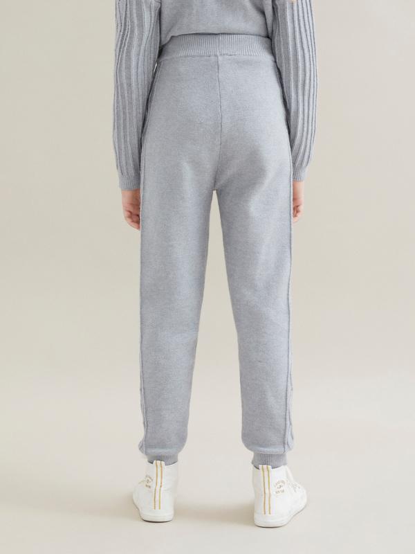 Трикотажные брюки для девочек - фото 4