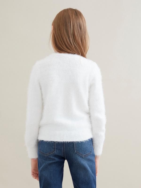 Джемпер для девочек с бусинами - фото 4