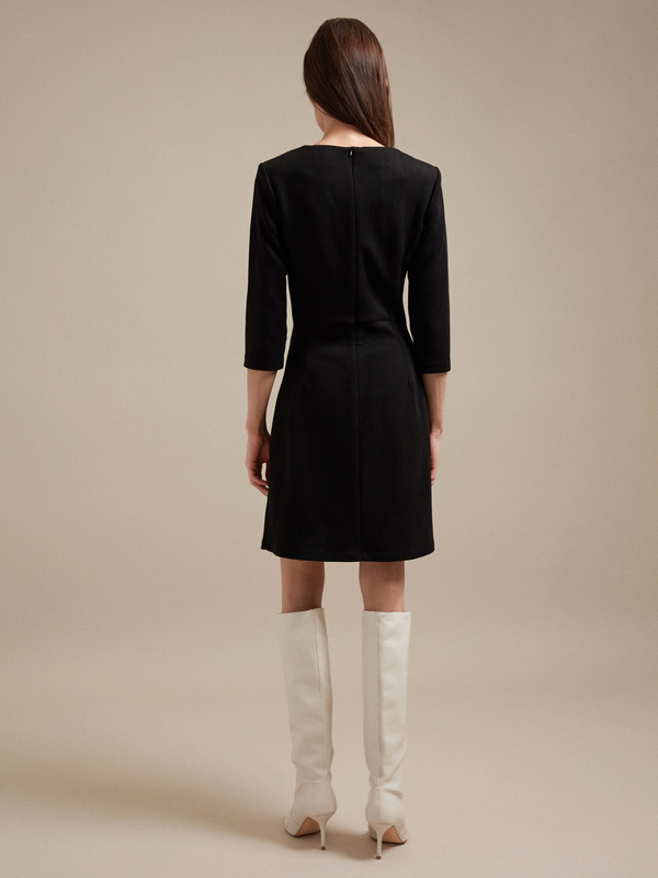 Платье-миди на запахе - фото 4