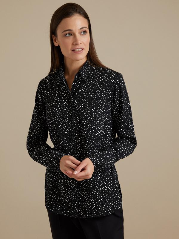 Блузка в крапинку - фото 2