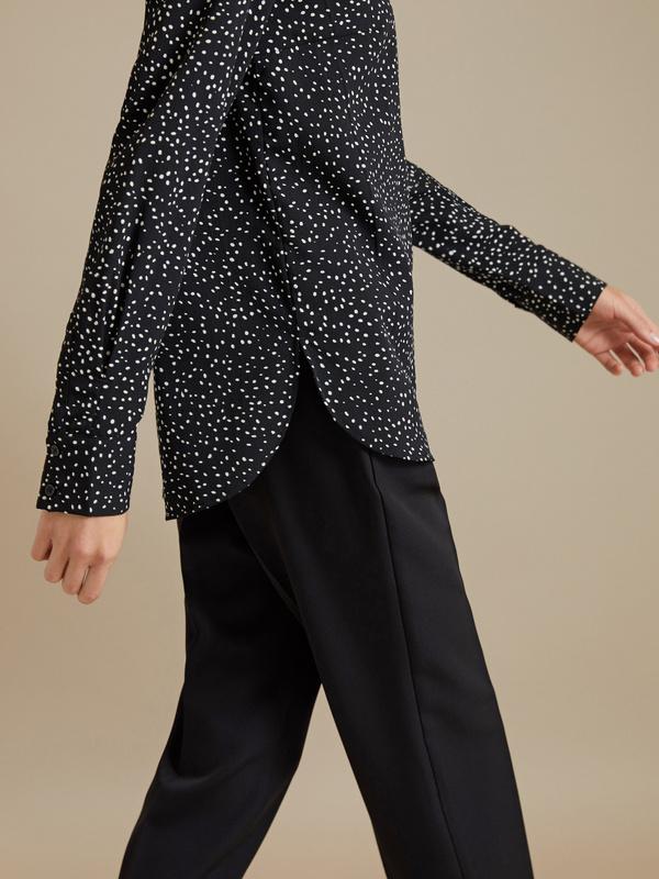 Блузка в крапинку - фото 3