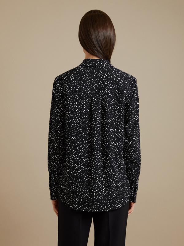 Блузка в крапинку - фото 4