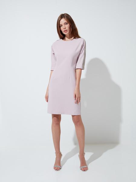 Платье-футляр с пайетками - фото 2