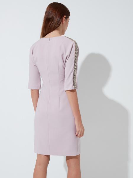 Платье-футляр с пайетками - фото 4