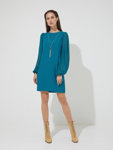 Платье-мини с подвеской - фото 3