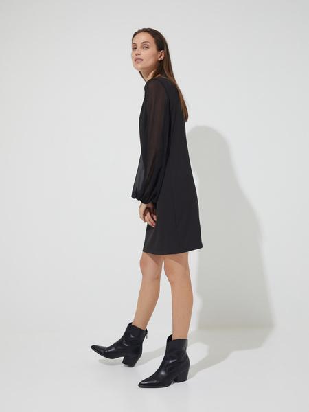Платье-мини с подвеской - фото 4