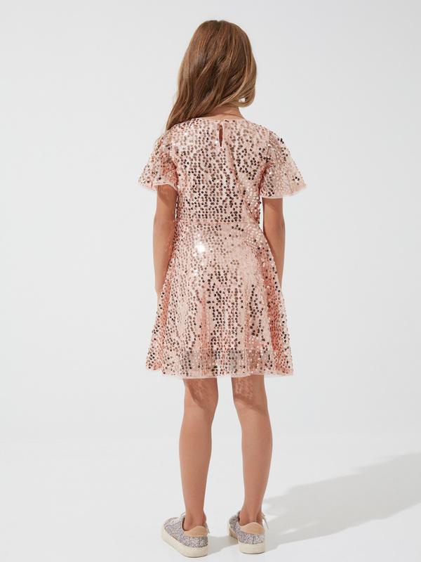 Платье для девочек с пайетками - фото 5