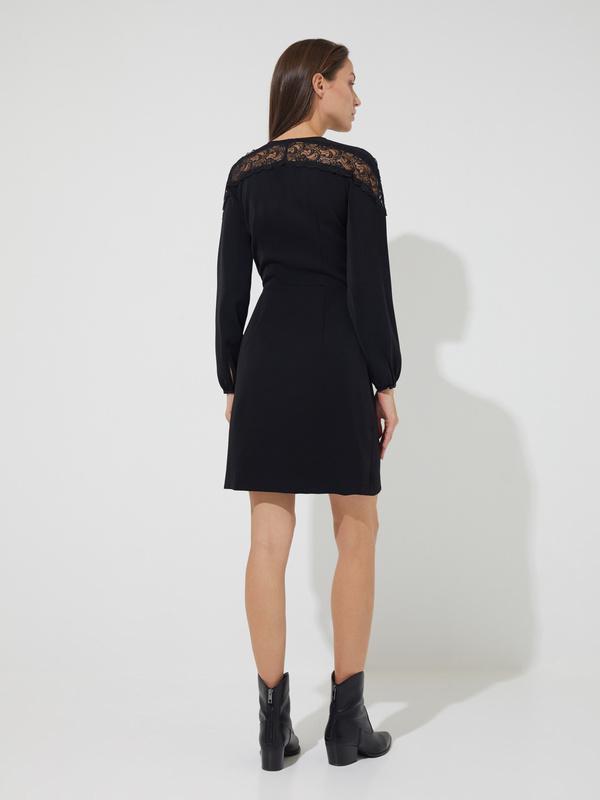Платье-мини на запахе  - фото 6