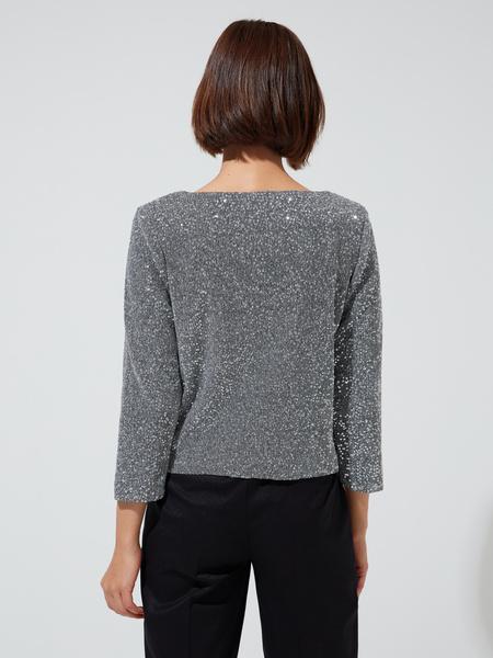 Блуза с пайетками - фото 3