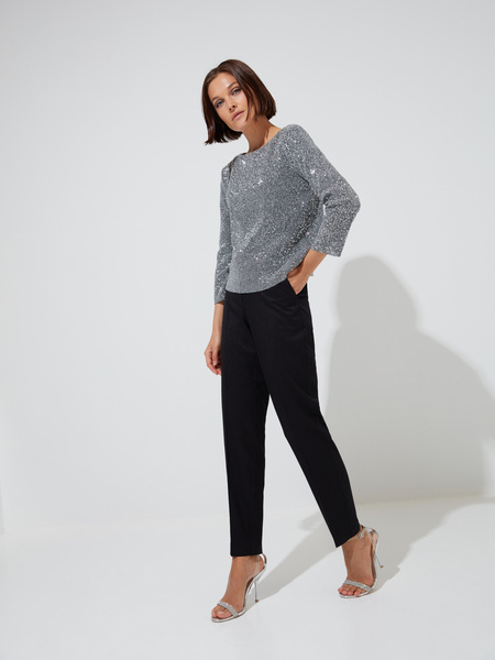 Блуза с пайетками - фото 5