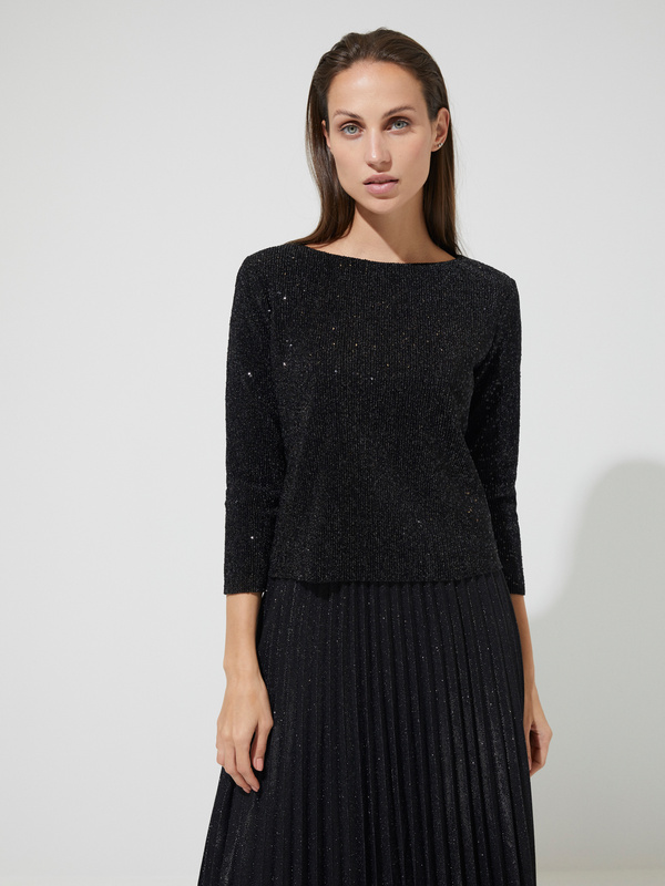 Блуза с пайетками - фото 1