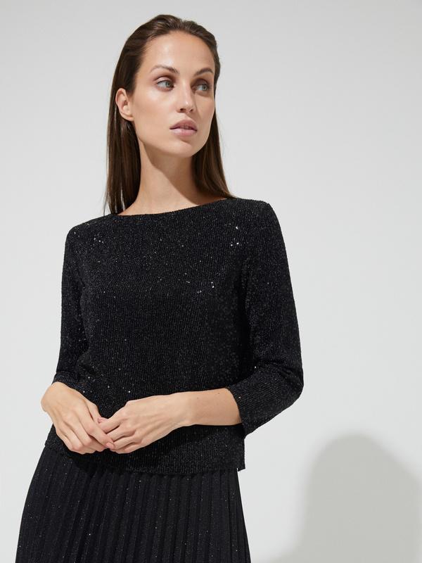Блуза с пайетками - фото 2