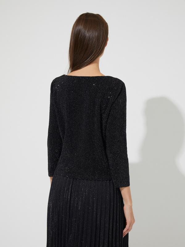 Блуза с пайетками - фото 4
