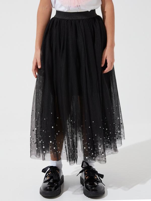 Пышная юбка из фатина для девочек - фото 4