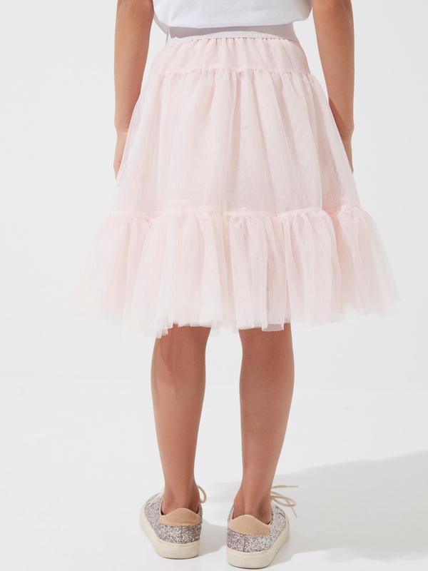 Многоярусная юбка для девочек из фатина - фото 4