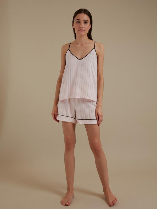 Пижама (топ+шорты) - фото 1