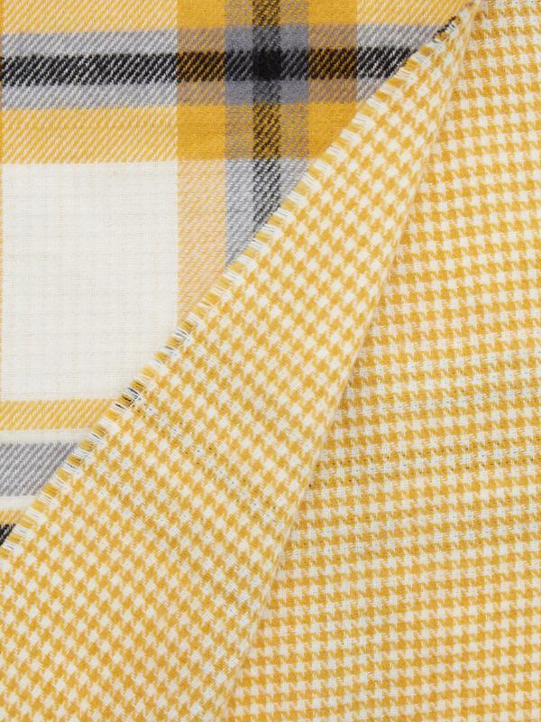 Шарф-палантин комбинированная полоска - фото 4