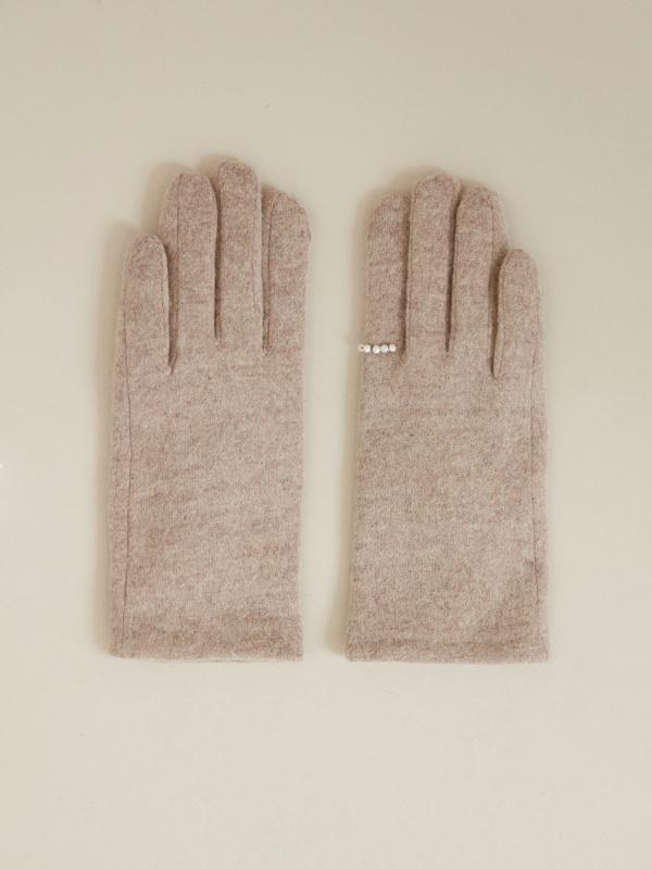 Перчатки 100% кашемир - фото 1