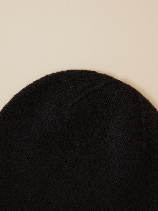 Шапка гладкой вязки - фото 3