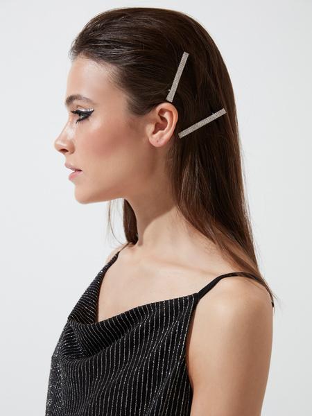 Заколки для волос со стразами - фото 1
