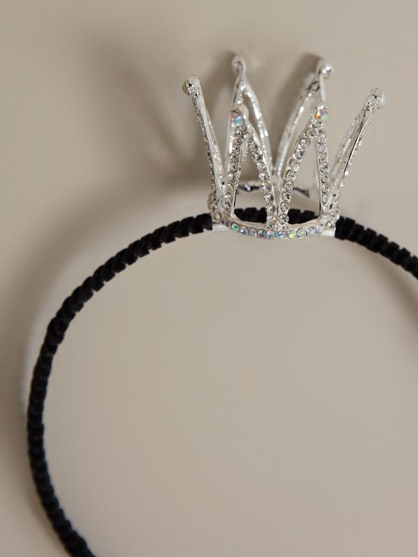 Ободок с короной для девочек - фото 2