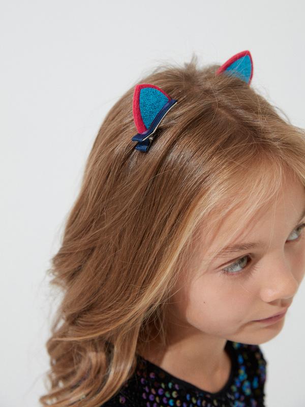 Заколки-ушки для девочек - фото 2