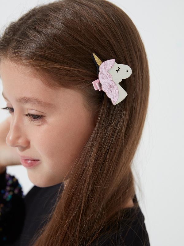 Заколки-единороги для девочек - фото 1